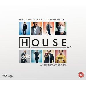 House MD Bluray £54.99 plus possible £2.22 cashback TCB @ Zavvi