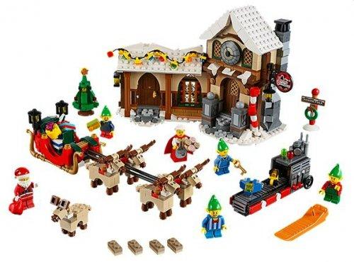 Lego Santa Workshop £41.99 (plus £3.95 delivery), ship in 30 days at Lego.com