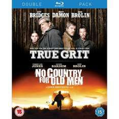 True grit /No country for old men  & Shutter island /Super 8  BLU-RAY doublepacks £4.99 EACH at play/entertainment store