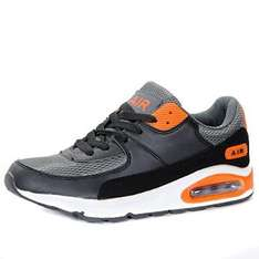 Intercept Air Max 90 Running Trainers - Grey/Black/Orange (10 & 11 only)  £19.70 delivered @ Amazon/Paramount Sports