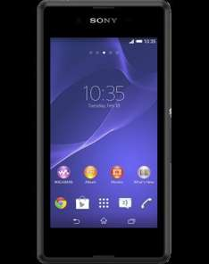 Sony Xperia E3 £33pm with £429 cashback making £15.12/month : 2GB of data, Unlimited calls/texts on Mobiles.co.uk