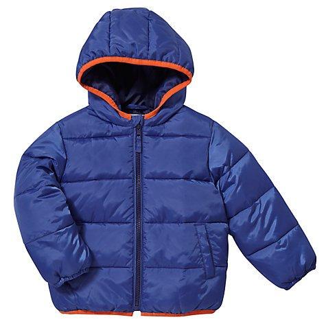 John Lewis Padded Baby Boys Coat now £8 was £20, GREEN, BLUE or ORANGE