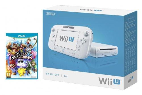 Wii U Basic + Super Smash Bros Wii U £159.99 @ Amazon