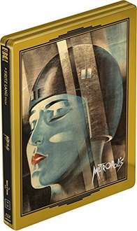 Metropolis Blu-ray Steelbook - £20.73 @ Amazon with chance to win a gold bar!