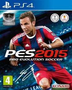 PES 2015 Pro Evolution Soccer (PS4) - Digital Exclusive Edition - £22.49 @ PSN Store