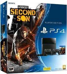 PlayStation 4 + 2x Controllers + Camera + Destiny + Second Son + Watch Dogs £399.99 @Game
