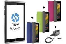 HP Slate 7 Voicetab Ultra (Dual Sim) Smartphone Tablet + 3 Color Cases + adapter - £99 with code @ Store HP