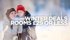 Travelodge Early Bird Winter Rooms / February Half Term from £29 or less, Winter in London for £49 (or less) +  Extra 10% Off with discount code