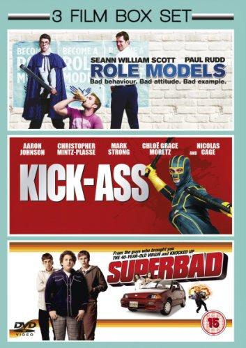Superbad / Role Models / Kick-ass DVD triple pack for £4.99 delivered at Zavvi