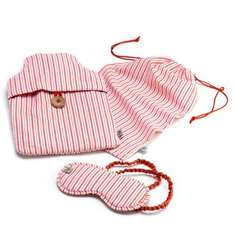 Candy Stripe hot water bottle cover & sleep mask set £6.50 delivered down from £30 @ Jamie at Home