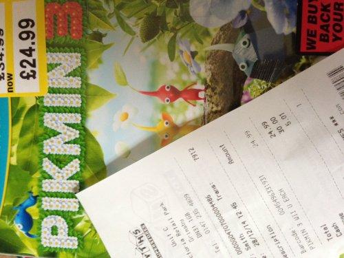 Pikmin 3 , WII U @ smyths toys £24.99