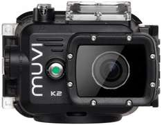 Veho Muvi K2 action camera + mounts £123.98 @ Amazon UK