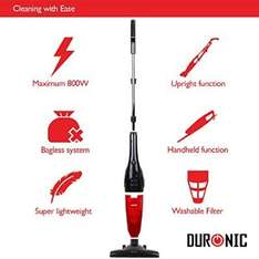 Duronic VC6/B Lightweight Vacuum (with fixed power cord) £29.88 delivered. Dispatched and sold by DURONIC