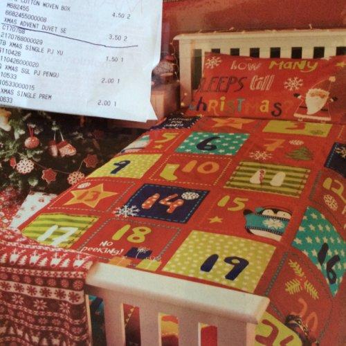 Matalan advent single duvet set £3.50 instore