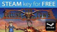 STEAM key for FREE: Culling of the Cows(250k available), includes 5 trading cards! @ indiegala.com