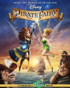 Tinkerbell and the Pirate Fairy DVD - Was £9.99, Now £5 @ Amazon (FREE Delivery on orders over £10)