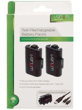 Venom Double Battery Pack (Xbox One) - Tesco £8.00