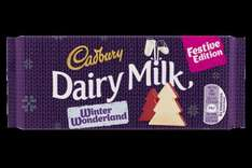 Cadbury Dairy Milk Winter Wonderland Festive Edition 100g 30p @ Tesco