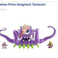 Fisher price imaginext tentaclor £15.00 @ Boots - online free click and collect