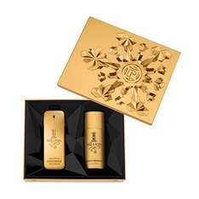 Pack rabanne 100ml Million Gift Set with 125ml Deodorant- fragrance Direct £39.99