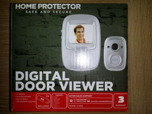Digital door viewer/doorbell £19.99 @ Aldi