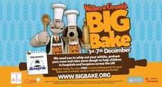 Free Home Pride Wallace & Gromit Baking Kit