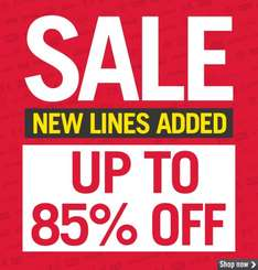 M&M direct up to 85% off (I've listed some deals I thought were excellent value) - Men/Women/Kids