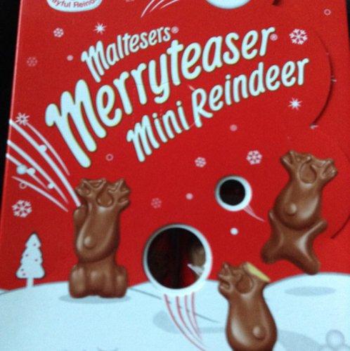 Merry teaser mini reindeer pack 50p @ Tesco