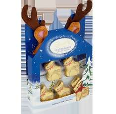 Lindt Gold Reindeer & Fluffy Antlers 50g in Milton Keynes Store £1.49 @ Waitrose