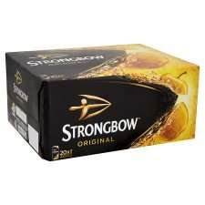 Strongbow Possible 45p A Can When You Order £60 worth @ Tesco