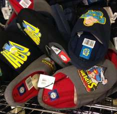 Mens Character slippers £2.99 (half price in aldi) simpsons homer family guy stig top gear and superman