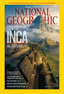 National Geographic Magazin 12 Month Subscription £12.99 paper copy (£9.99 online)