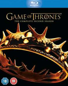 Game of Thrones Season 2 Blu Ray £17.30 @ Amazon