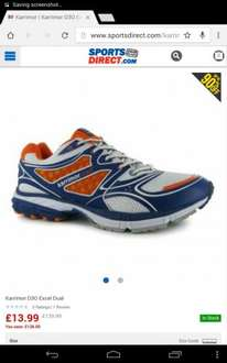 karrimor D30 trainers £13.99 plus £3.99 delivery Sports Direct