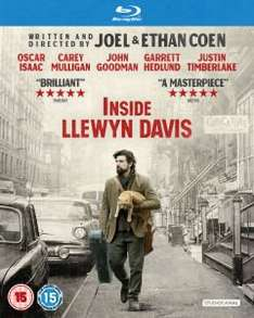 Inside Llewyn Davis Blu-ray £6.99 from Zavvi