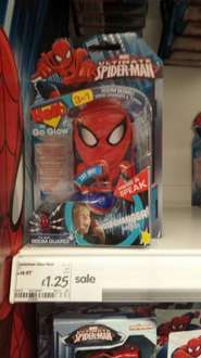 Spiderman Room Guard - £1.25 @ ASDA coventry Walsgrave