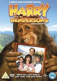 Harry & The Hendersons (DVD/2010 Re-Issue) £3.99 Delivered @ SweetBuzzards Via eBay