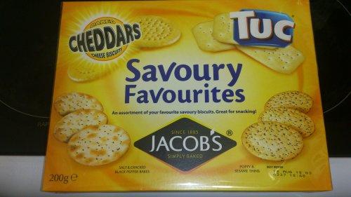 Jacobs 'savoury favourites' 300g box @ asda wolverhampton