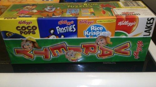 Kellogg's Variety 8 box 98p @ Asda