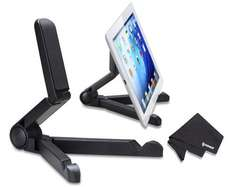 IPOW(TM) Black Portable Travel Fold-Up Desktop Table Tablet Stand Holder for 7-10 Inchs Tablet £5.76 Sold by soaiy and Fulfilled by Amazon (free delivery £10 or Prime)