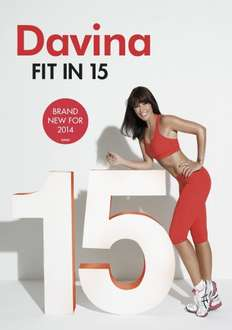 Davina - Fit In 15 (Fitness DVD) £4.50 TESCO direct FREE HOME DELIVERY!!