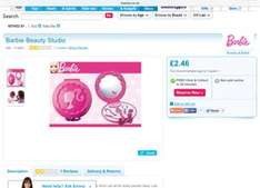Barbie beauty studios £2.46 free click and collect Toys r us.
