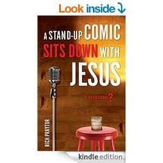 Free Kindle Book- Stand-Up Comic Sits Down with Jesus, A: A Devotional(was £8.30)