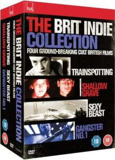 The Brit Indie Collection Blu-ray Boxset £6.99 delivered @ Zavvi [Trainspotting / Shallow Grave / Sexy Beast / Gangster No. 1]