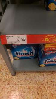 Finish all in one 78 pack £9 @ Asda (in-store)