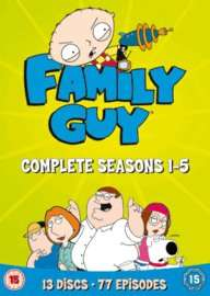 Family Guy Seasons 1-5 only £9.00 delivered @ GAME