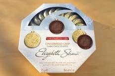 Elizabeth Shaw Christmas Edition Gingerbread Crisp Dark  Chocolate 175g now 75p at Asda Oldbury