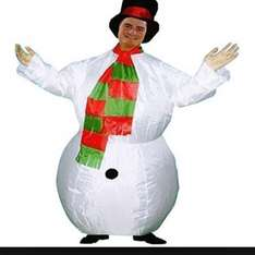Snow man blow up fancy dress £2 @ Asda instore