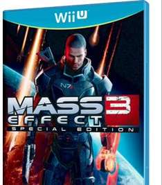 Mass effect 3 special edition on Wii U £9.99 at Argos