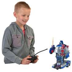 Transforming Remote Control Optimus Prime Or Bumble Bee Transformers £29.99 @ Smyths, RRP £50 elsewhere Free Click and Collect